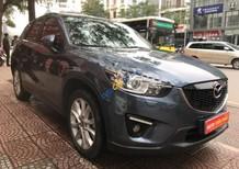 Cần bán Mazda CX 5 2.0 AT sản xuất năm 2015, màu xanh lam số tự động