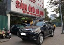Cần bán xe Toyota Fortuner 2.7AT đời 2013, màu đen số tự động, 750tr