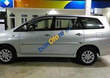 Cần bán lại xe Toyota Innova đời 2014, màu bạc chính chủ, giá 615tr