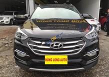 Bán xe Hyundai Santa Fe 2.4 AT năm 2017, màu đen