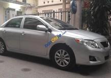 Bán xe Toyota Corolla Altis sản xuất năm 2009, màu bạc, nhập khẩu chính chủ