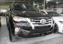 Bán Toyota Fortuner 2.4G 4x2 MT năm sản xuất 2017, màu nâu, nhập khẩu chính chủ