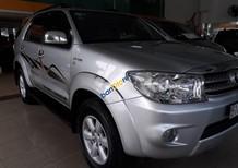 Bán Toyota Fortuner 2.7V 4x4 AT đời 2010, màu bạc