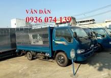 Bán Thaco Kia K165 - 2T4 Màu xanh thùng bạt giá 334tr. Trả trước 30% giao ngay trong tuần