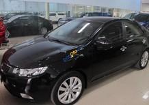 Cần bán lại xe Kia Cerato 1.6AT đời 2011, màu đen, xe nhập số tự động
