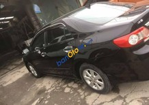Bán xe Toyota Corolla altis sản xuất 2012, màu đen, giá chỉ 580 triệu