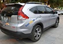 Bán xe Honda CR V 2.4 AT đời 2014, màu bạc số tự động, 855tr