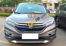 Cần bán gấp Honda CR V 2.4 AT đời 2017, màu nâu