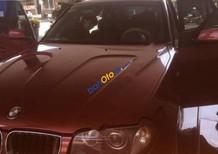 Bán xe BMW X3 2.5i sản xuất 2006, màu đỏ, nhập khẩu