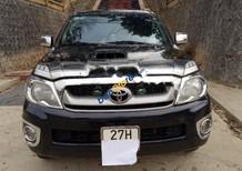 Bán Toyota Hilux 3.0G 4x4 MT sản xuất năm 2009, màu đen, nhập khẩu