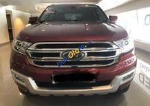 Cần bán lại xe Ford Everest năm sản xuất 2016, màu đỏ