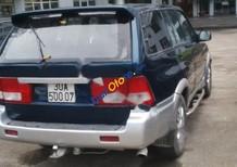 Cần bán lại xe Ssangyong Musso đời 2000, màu xanh lam, nhập khẩu
