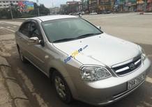 Cần bán xe Daewoo Lacetti sản xuất năm 2007, màu bạc còn mới