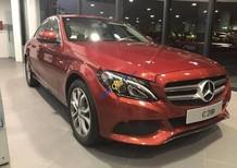 Bán Mercedes C200 đời 2017, màu đỏ