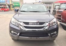Cần bán Isuzu mu-X 3.0AT 2016, màu bạc, nhập khẩu, giá chỉ 835 triệu