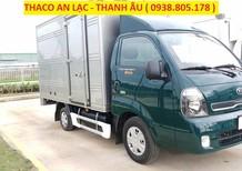 Giá xe K200 thùng mui bạt, giá xe K200 thùng kín, xe Kia K200 Trường Hải