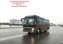 Bán xe Universe Haeco 35 chỗ Hino 2018 Euro 5 cao cấp