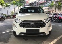 Cần bán xe Ford EcoSport Titanium 1.0 sản xuất 2018, màu trắng