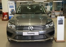 Bán Volkswagen Touareg đời 2017, màu xám, mới 100% nhập khẩu chính hãng LH: 0933.365.188