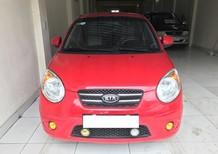 Xe Kia Morning SLX 2008, màu đỏ, xe nhập