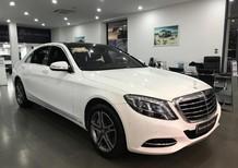 Cần bán lại xe Mercedes S400L đời 2017, màu trắng, như mới