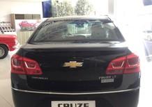 Bán xe Chevrolet Cruze LT sản xuất 2017, màu đen
