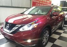Bán Nissan Murano PLatinum sản xuất 2016, màu đỏ, nhập khẩu, giao ngay trong ngày