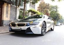 BMW i8 model 2015, màu trắng, nhập khẩu, xe 1 chủ, cực đẹp