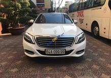 Bán xe Mercedes S500 sản xuất năm 2016, màu trắng, nhập khẩu, xe chạy ít, cực đẹp