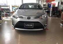 Bán xe Toyota Vios E 2018, màu trắng, có 100 nhận xe ngay