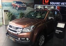 Cần bán xe Isuzu mu-X 2.5MT 2016, màu nâu, nhập khẩu nguyên chiếc, 770tr