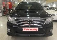 Cần bán Toyota Fortuner G đời 2014, màu đen, giá chỉ 825 triệu