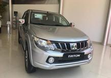 Bán xe Mitsubishi Triton MT 2018, màu bạc, nhập khẩu chính hãng, 570tr - Liên Hệ 0931911444