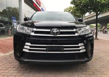 Bán Toyota Highlander LE 2018, màu đen, xe nhập Mỹ