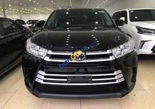 Cần bán xe Toyota Highlander 2.7 đời 2018, màu đen, xe nhập Mỹ