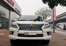 Bán Lexus LX570 sản xuất 2013 màu trắng, nội thất kem, đăng ký tên cá nhân chính chủ
