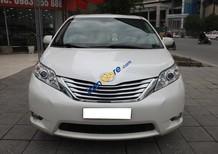 Cần bán Toyota Sienna sản xuất 2012, màu trắng, nhập khẩu xe gia đình