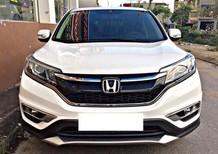 Bán ô tô Honda CR V 2.4AT đời 2016, màu trắng