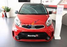 Bán xe Kia Morning Si AT sản xuất 2018, màu đỏ