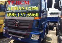 TP. HCM Thaco Auman C2400 14 tấn mới thùng kín inox304, màu xanh lam
