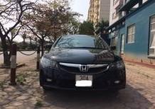 Bán xe Honda Civic đời 2009, màu đen, số tự động