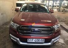 Ford Everest 4X2 AT 2016, màu đỏ, xe nhập