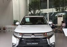 Bán xe Mitsubishi Outlander 2.4 CVT 2018, màu trắng có bán trả góp liên hệ 0906.884.030