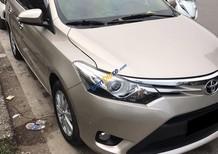 Cần bán chiếc Toyota Vios G 2017 tự động, màu vàng cát