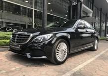 Bán xe Mercedes C250 đăng kí 2017, màu đen giá rẻ