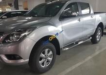 Bán Mazda BT - 50 màu bạc, nhập khẩu Thái Lan, hỗ trợ trả góp 80% giá trị xe, LH 0938097488
