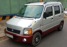 Cần bán gấp Suzuki Wagon R+ 1.0 MT 2003, màu bạc xe gia đình, 95tr