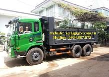 Đại lý xe ben Dongfeng 3 chân (3 giò) 13 tấn - 13 tấn - 13 tấn thùng ben 11 khối