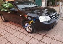 Cần bán lại xe Daewoo Lacetti đời 2008, màu đen, 200tr