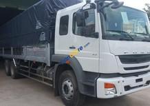 Bán xe tải 3 chân Fuso, thùng kèo mui bạt